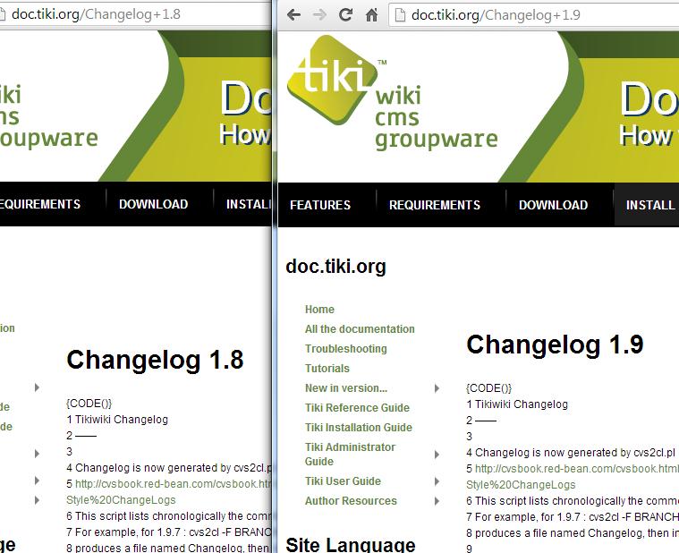 plugincode no longer working on some pages tiki wiki cms groupware rh dev tiki org User Manual User Guide Template